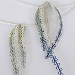 2015 Heather Sprig Pendants: Silver and Titanium